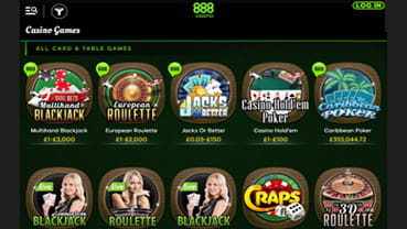 888 Games Mobile