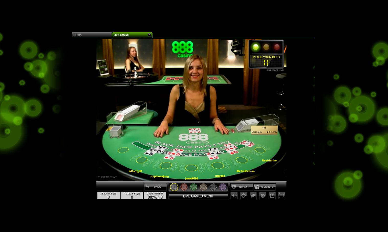 casino free 888 online