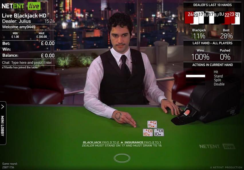 Bookmaker blackjack