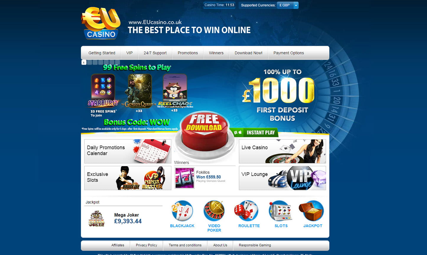 online casino eu european roulette play
