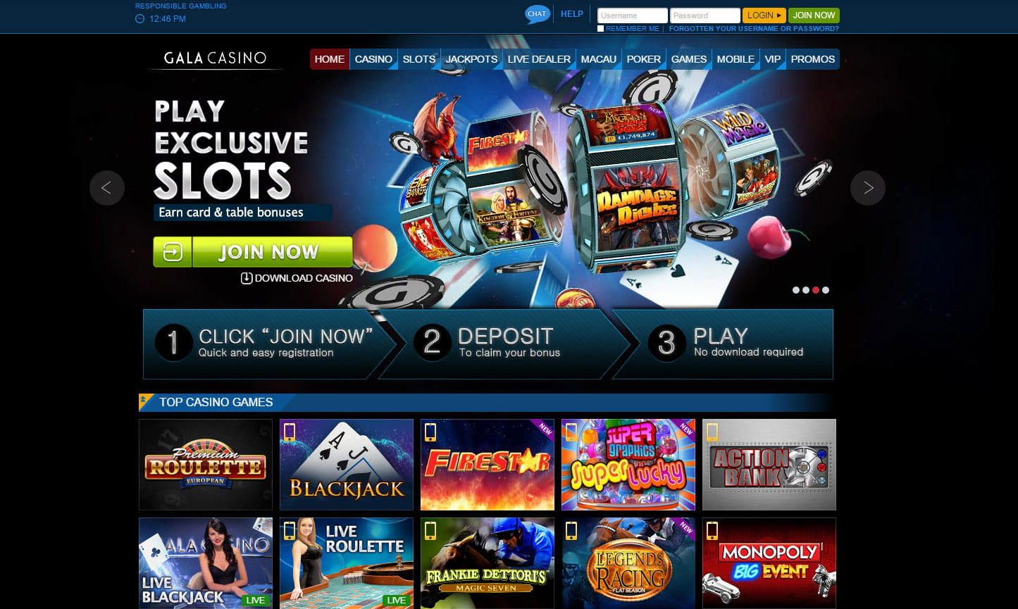 online casino gaming sites