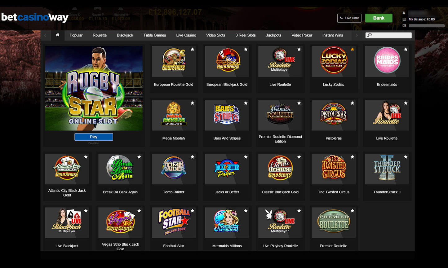 betway casino uk - the best online casino games and slots