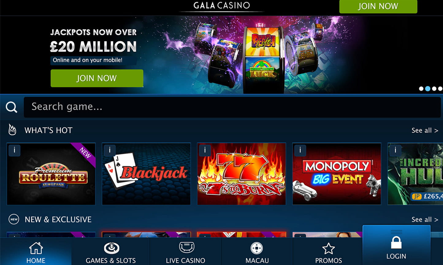 Gala Casino Review - UK Players Must Read