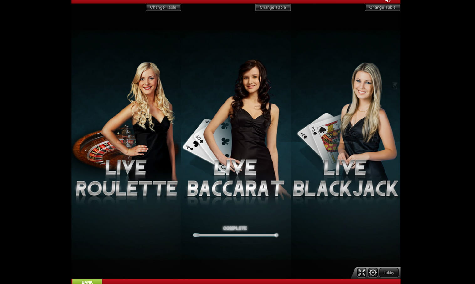live casino game online