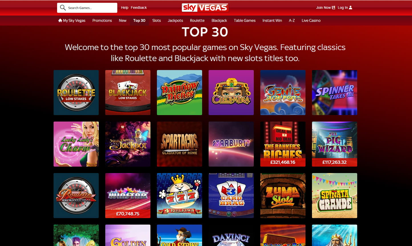 online casino top kazino games
