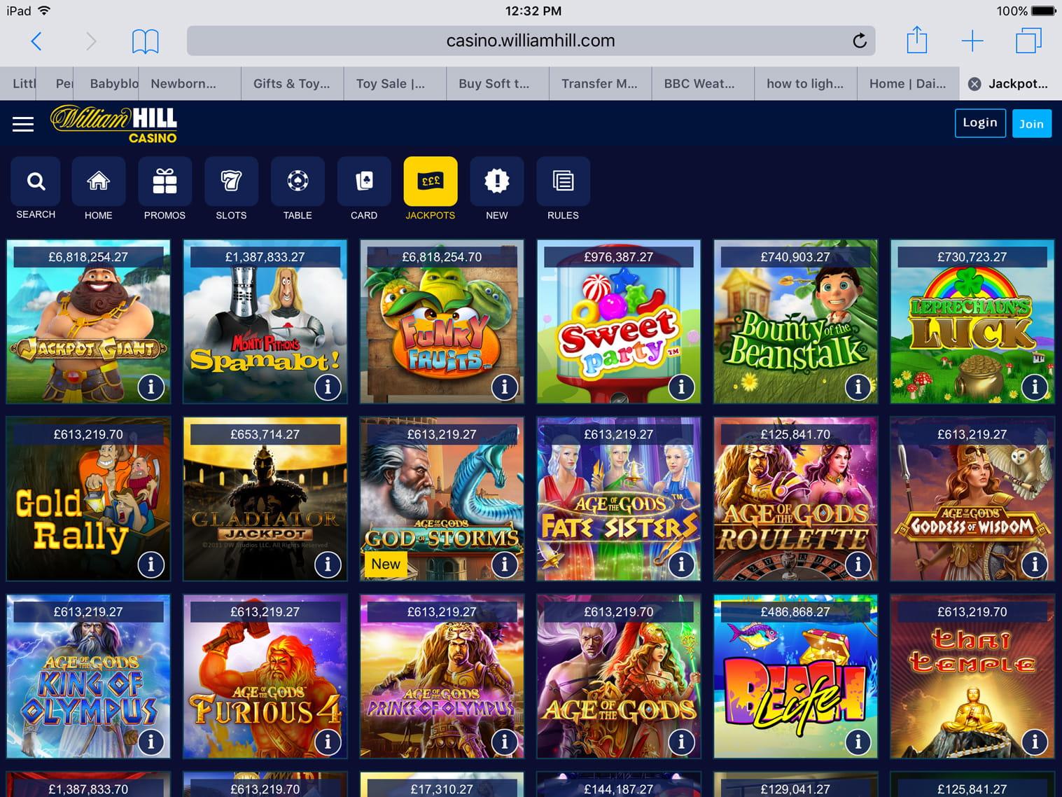 Casino Club William Hill App